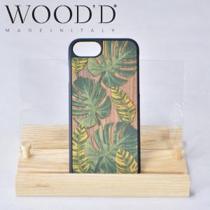 Wood'd ウッド iPhone7 / 8covers ウッド 天然木 アイフォーンカバー iPhoneケース iPhone7 / 8 用 TROPICAL [6/6Sにも対応] b-e-shop