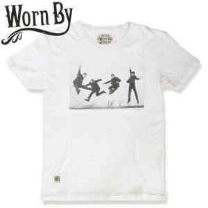 Worn By ウォーンバイ ビートルズ TEE Beatles JUMP 63 T-Shirt   ナリュラル|b-e-shop