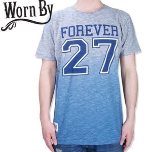 Worn By ウォーンバイ FOREVER 27 TEE 27 CLUB グラデーション Tシャツ T-SH|b-e-shop