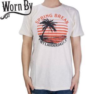 Worn By ウォーンバイ SPRING BREAK スプリング ブレイク Tシャツ T-SH|b-e-shop
