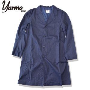 Yarmo[ヤーモ] タイプライター ワークコート Typewriter Work Coat NAVY ネイビー  (送料無料)|b-e-shop