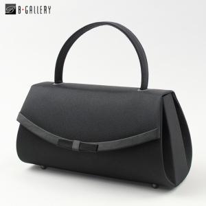 フォーマルバッグ ブラック 葬儀 法事 慶事両用 リボン丸型バッグ(wb1001)|ブラックフォーマル B-GALLERY