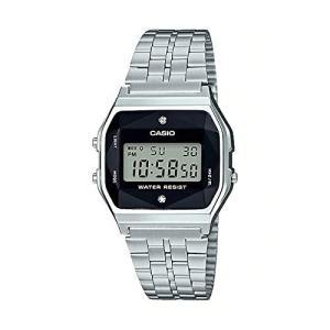 <送料無料>CASIO カシオ スタンダード 腕時計 A159WAD-1 天然ダイヤ付き チープカシオ b-house