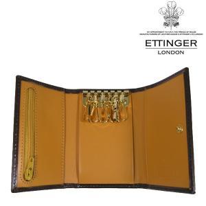 送料無料 エッティンガー/ETTINGER 6連 キーケース メンズ Bridle Hide BH2095JR-NUT|b-house