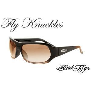 送料無料 【BLACK FLY】ブラックフライ サングラス FLY KNUCKLES S BRN G/AMG G|b-house
