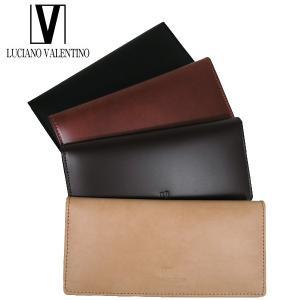 <送料無料>LUCIANO VALENTINO ルチアーノバレンチノ 牛革 本革 ウォレット 長財布 LUV-7001(BK/BR/DBR/BE)4色|b-house