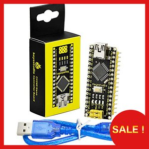 Tonglura Electronic 50Pcs//lot Nano Atmega168 Controller Compatible for arduino Nano Atmega168P CH340 CH340G USB Driver NO Cable