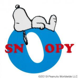 〔取寄〕SNOOPY スヌーピー イニシャルステッカー アルファベットO SN225|美-健康ゴルフ PayPayモール店