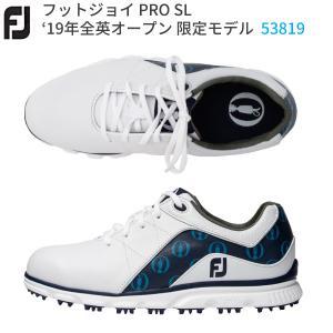 【紐タイプ】フットジョイ 53819 PRO SL プロ エスエル ゴルフシューズ 2019年 全英...