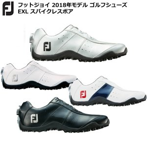 フットジョイメンズ ゴルフシューズ FJ EXLスパイクレスボア ワイズ:W イーエックスエル