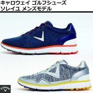 ゴルフシューズ キャロウェイ ソレイユ 18 メンズ 靴ひもタイプ 247-8983503 2018...