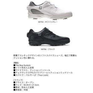 フットジョイ ARC XT BOA メンズ ゴルフシューズ FJ アーク 2019年モデル(取寄)|b-kenkougolf|03