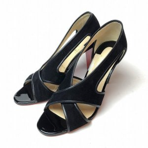 クリスチャンルブタン CHRISTIAN LOUBOUTIN サンダル 38.5 レディース 靴 【中古】|b-living