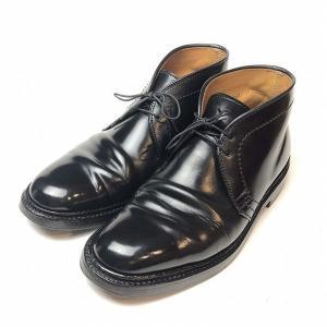 オールデン ALDEN UA 別注 コードバン チャッカ ブーツ 6 メンズ 靴【中古】