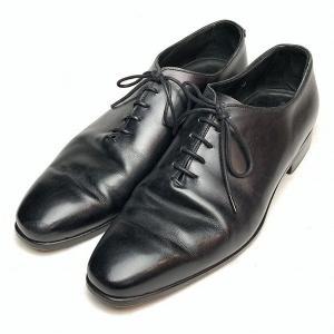 ディメッラ DI MELLA ホールカット ビジネスシューズ レザー 7.5 メンズ 靴 【中古】