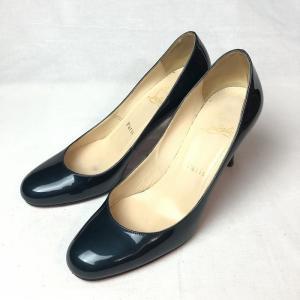 クリスチャンルブタン  CHRISTIAN LOUBOUTIN ルブタン パテント レザー パンプス 36.5 レディース 靴  【中古】|b-living