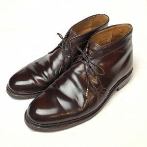 オールデン ALDEN 1339 コードバン チャッカ ブーツ 8.5 メンズ 靴  【中古】
