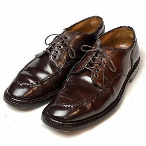 オールデン ALDEN 2464 SHIPS 別注 コードバン Uチップ シューズ 7 メンズ 靴 ...