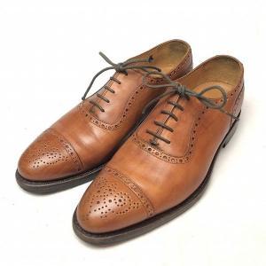 ジャランスリワヤ JALAN SRIWIJAYA セミブローグ レザー シューズ 6 メンズ 靴  ...