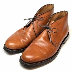 オールデン ALDEN レザー チャッカ ブーツ 8 メンズ 靴   【中古】