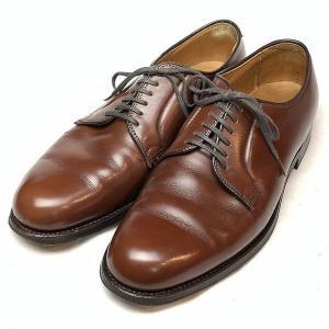 オールデン ALDEN 665 Conformal Shoe Store 別注 プレーントゥ レザー...