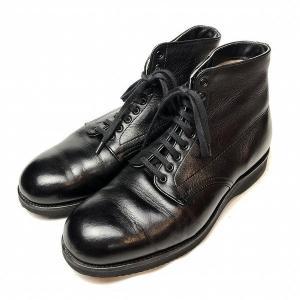 オールデン ALDEN C.D.L 旧ロゴ プレーントゥ ブーツ 7.5 メンズ 靴   【中古】