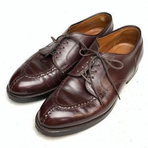 オールデンALDEN ノルウィージャンフロント レザー シューズ 6.5 メンズ 靴  【中古】