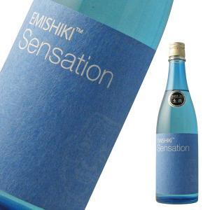 笑四季Sensation 青ラベル 特別純米生 720ml 「日本酒・滋賀県・笑四季酒造」|b-miyoshi