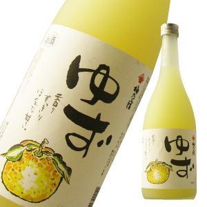 梅乃宿 ゆず酒 720ml「奈良県・梅乃宿酒造」