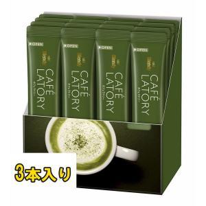 D 送料無料 AGF ブレンディ カフェラトリースティック 濃厚抹茶ラテ 3本入(12g×3本)|b-o-d2