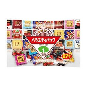 ネコポス無料 正規袋3個 チロルチョコ バラエティパック 81粒セット チョコレート 駄菓子 チョコ 送料無料|b-o-d2
