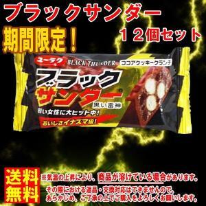 ネコポス無料 有楽製菓 チョコレート ★ブラックサンダー21g×12個★  ポイント 消化|b-o-d2