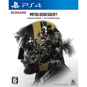 新品 送料無料  PS4 METAL GEAR SOLID V: GROUND ZEROES + THE PHANTOM PAIN