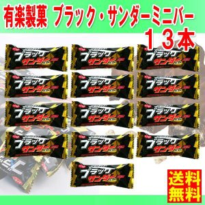 送料無料 有楽製菓 チョコレート ★ブラックサンダー ミニバー 13g×13個★  ポイント 消化 ...