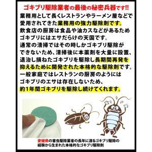 【ゴキブリストップ1箱(薬剤12枚)】強力ゴキブリ退治 害虫駆除業者が使う本格的なゴキブリ駆除剤 屋外で死滅 約1年間持続 確実なゴキブリ対策 (03)|b-one-shop|02
