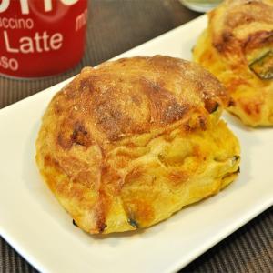 かぼちゃとクリームチーズのリュスティック 食事パン|b-parfun
