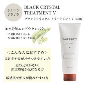 ブラッククリスタル トリートメント V 250g haru 髪のハリやボリュームアップ トリートメント|b-proshop|06