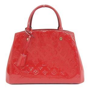 商品名:Louis Vuitton ルイ ヴィトン ヴェルニ モンテーニュ 2WAYハンドバッグ シ...
