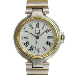 商品名:dunhill ダンヒル ミレニアム メンズ クォーツ 腕時計 白文字盤 【時計】 自社管理...