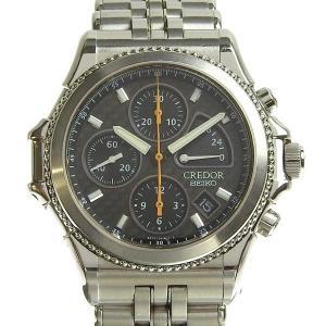 商品名:SEIKO セイコー クレドール パシフィーク クロノグラフ メンズ オートマ 腕時計 6S...