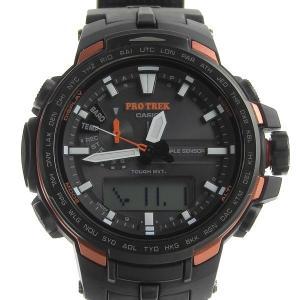 03楽市 本物 美品 CASIO カシオ プロトレック メンズ ソーラー 腕時計 PRW-6100Y