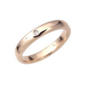 ピンクオーバルジルコニアタングステンリング(指輪)*Tungsten=キュービックジルコニアCZ使用