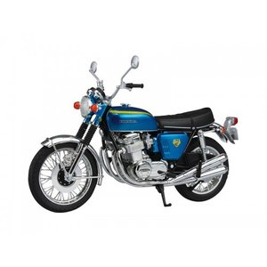 スカイネット 1/12 完成品バイク Honda CB750FOUR (K0) キャンディブルー|b-side-toy