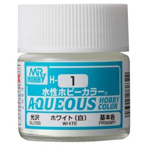 【プラモデル塗料】クレオス 水性ホビーカラー H-1 ホワイト