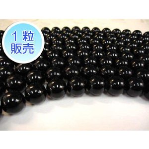 オニキス 約14mm 1粒販売 パワーストーン ビーズ ラウンド型  天然石|b-soft