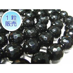 オニキス 約12mm 1粒販売 パワーストーン ビーズ ラウンドカット型  天然石|b-soft