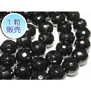 オニキス 約14mm 1粒販売 パワーストーン ビーズ ラウンドカット型  天然石|b-soft