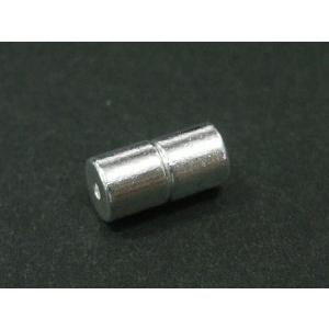 マグネットクラスプ アクセサリーパーツ プレーンタイプ 約9×5mm 古代銀  1ペア b-soft