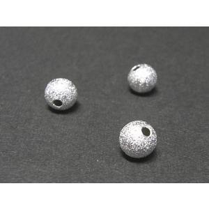 丸型スペーサー アクセサリーパーツ プレーン 古代銀 約6mm  10個セット|b-soft