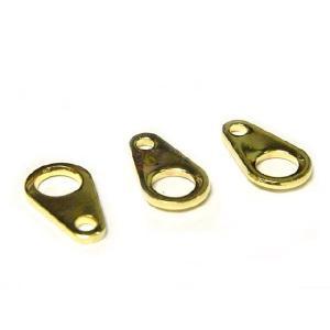ダルマカン アクセサリーパーツ ゴールド 約8×4mm 10個セット販売|b-soft